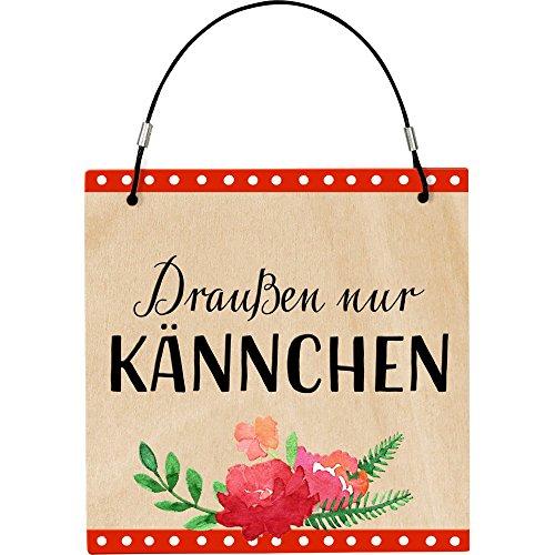 Spiegelburg 14845 Kleines Gartenschild - I love my Garden - 1 Stück