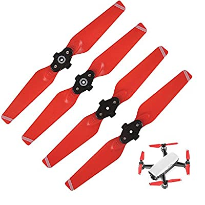SHiZAK 2 Pairs (2x CW * 2xCCW) 4730F Propeller Quick Release foldable Propellers for DJI Spark Drone