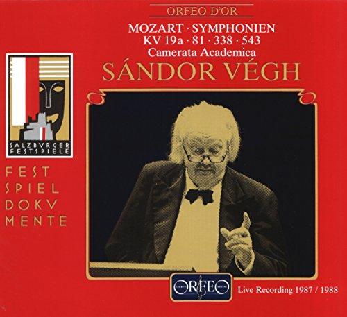 Preisvergleich Produktbild Sinfonien KV 19a / 81 / 338 / 543