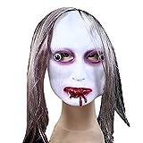 Guizen Masque de Horreur pour Halloween Party/Masque de Effroyable /Masque de Déguisement Halloween(Livraison Aléatoire)