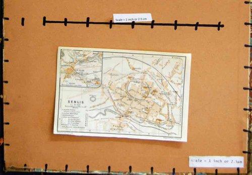 pianificazione-1923-della-via-di-parigi-francia-della-mappa-senlis-faub-martin