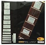 Griffbrett Marker Inlay Aufkleber Decals für Gitarre & Bass-LP SG blocks- WP