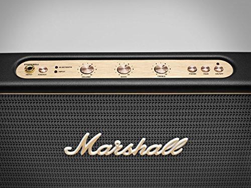 Marshall Stockwell - Altavoz portátil (Bluetooth, USB, 25 W), color negro