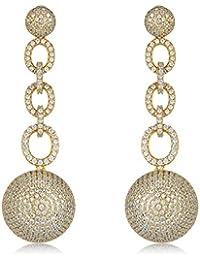 Shaze Copper Gold Earrings for Women