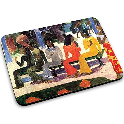 gamer ta e Gauguin - Ta Matete, Mousepad Anti Rutsch Unterseite für Optimalen Halt Kompatibel mit allen Maustypen (Kugel, Optisch, Laser) Ideal für Gamer und für Grafikdesigner.