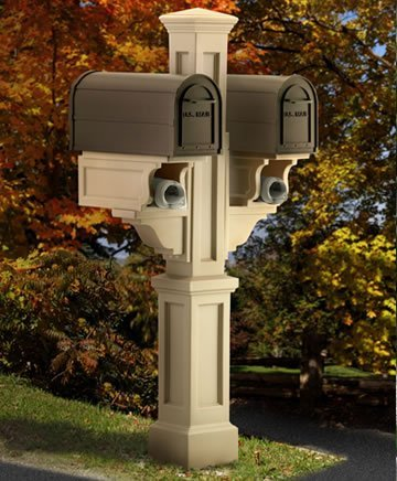 mayne-5811-cl-rockport-double-mailbox-post-clay-by-mayne