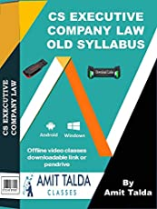 COMPANY LAW DECEMBER 2018 (OLD SYLLABUS) | Price is for Pendrive with Book