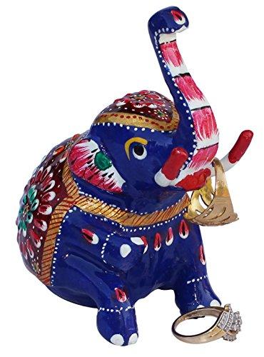 elephant-decor-souvnear-104-cm-white-metal-elephant-figurine-good-fortune-ornaments-meenakari-work-o