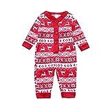 BaZhaHei Weihnachten Familie Schlafanzug Pyjama Outfits Set Nachtwäsche Feiertag Suit für Dad Mom Kinder Mädchen Jungen Bluse + Plaid Lange Hosen Homewear