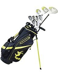 Woodworm Golf ZOOM V2Complete Set Golf Linkshänder Alles in graphit/Stahl