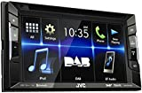 JVC KW-V235DBT Bluetooth Black car media receiver - car media receivers (4.0 channels, DAB,FM,LW,MW, 87.5-108 MHz, 153-279 kHz, MOSFET, 15.8 cm (6.2'))