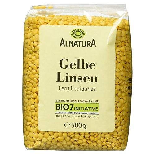Alnatura Bio gelbe Linsen, 500 g