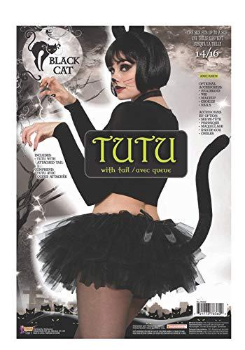Forum Novelties Hängelampe Artikelnummer 78360Katze Tutu Kostüm, schwarz, UK Größe - Schwarze Katze Tutu Kostüm