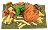 Avalon Gallery Resin Sleeping Saint Joseph Statue Figure, 6 Inch