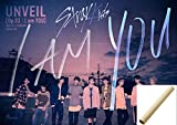 STRAY KIDS - [I AM YOU] (I am + You Set ver) 3th Mini Album Pre-order benefit + 2 Unfolded Posters in tube