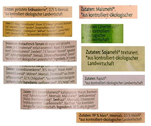 biozentrale Vegan Geschenkbox - enthält 10 BIO-Produkte, 1er Pack (1 x 1 ) - 3