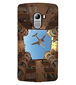 ColourCraft Creative Image Design Back Case Cover for LENOVO VIBE X3 LITE