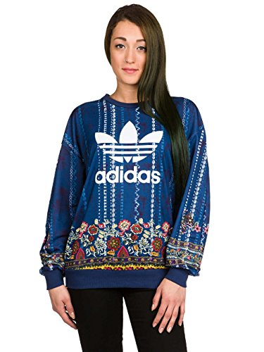Adidas originals AY6904 Felpa Donna Multicolor 44