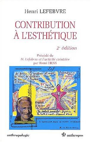 Contribution à l'esthétique par Henri Lefebvre