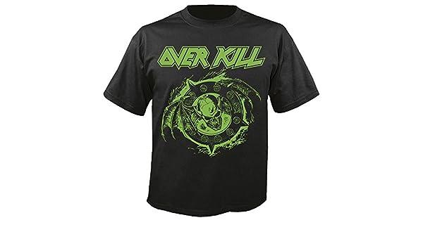Overkill Krushing Skulls T-Shirt