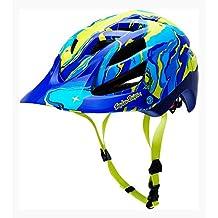 Troy Lee Designs A1 Galaxy - Casco de ciclismo multiuso, color azul, talla XSmall/Small (54-56cm)