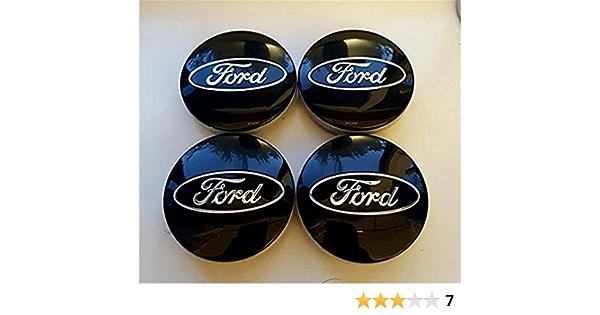 4 X 54 Mm Legierung Felgendeckel Nabenkappen Center Hub Blau Für Ford Passend Für Die Meisten Neue Modelle Emarkooz Auto