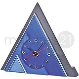 matches21 Design-Uhr 23x20x4 cm Holz Bausatz f. Kinder Werkset Bastelset ab 11 Jahren