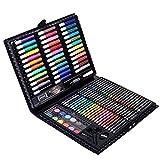 Merry Angel Maxi 150pièces Ensemble de peinture pour enfant Art Brosse Pastel à l'huile Peinture aquarelle Pen Outil de peinture d'entraînement Cadeau