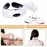 PERFECT SHOPO Cervical vertebra massager Impulse Treatment massage device Electric pulse Neck massager Acupoint magnetic therapy