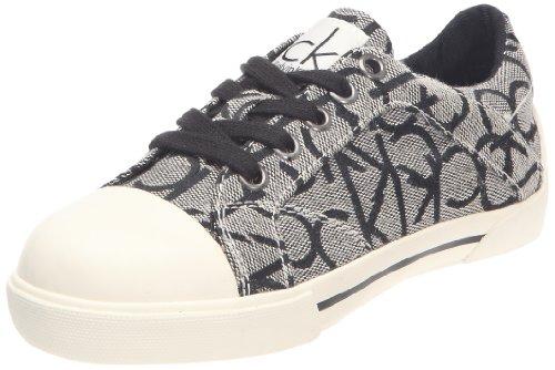 Calvin Klein Dakota, Unisex-Kinder Hohe Sneakers Grau (Granit)