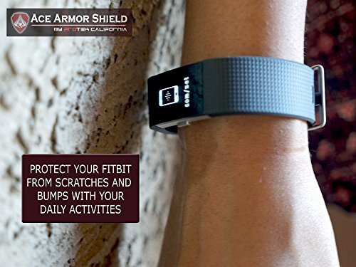 Ace Armor Shield Protek Screen Protector for Fitbit Charge 2
