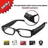 LIDAUTO Versteckte Kamera Brille Video Spionbrillen Mini DV Camcorder 1080p HD