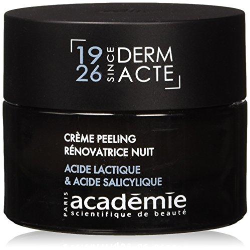 Academie Derm Acte femme/women, Restorative Exfoliating Night Cream, 1er Pack (1 x 50 g) - Restorative Creme