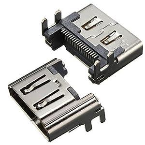 BisLinks® HDMI Port Socket Plug Ersatz Part für Playstation 4 PS4