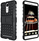 Defender Stylish Armour Protector Shockproof + TPU 360° Protection with Hybrid Kickstand Back Case Cover For Lenovo Vibe K5 Note