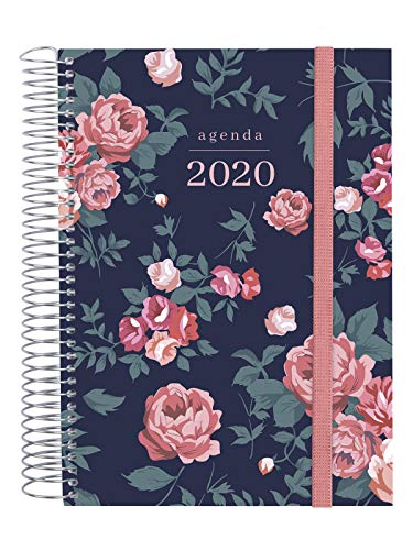 Finocam - Agenda 2020 1 día página Espiral Design Collection Elegant español