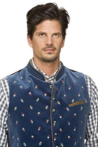 Stockerpoint - Herren Trachten Weste in verschiedenen Farbtönen, Calzado, Größe:56, Farbe:Rauchblau - 5