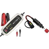 CTEK MXS 5.0 Batterieladegerät Mit Automatischer Temperaturkompensation, 12V 5.0 Amp (EU Stecker) & 56870 Comfort…
