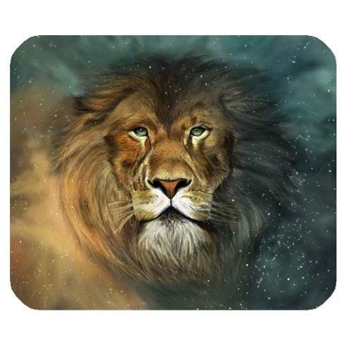 Gaming-Mauspad, Gaming Mousepad - Der König des Waldes - Lion Rectangle Mouse Pad