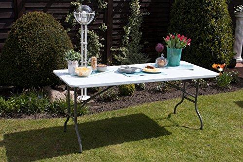Tavoli Da Giardino Risparmio Casa : Tavolo pieghevole da giardino bianco perfetto come tavolo da