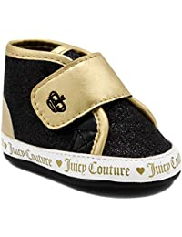 445b04c2e2ac Juicy Couture Kids JC Baby Santa Cruz Infant Prewalker Girls Fashion  Adjustable Strap Strap Crib Sneakers