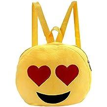 Cremallera de Niños Mano con Bolsa Escolar GEMVIE Emoji Bolso Viaje 4HAFFf