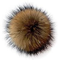 ECYC Faux Fur Pompon Ball per Scarpe Cappelli Borse Berretti Cappello  Cappellino 15cm 42214a88c4e7