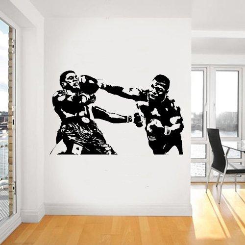 Mike Tyson da parete, Sticker adesivo in vinile