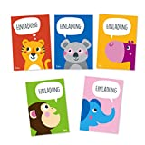 Julica Einladungskarten Kindergeburtstag | Tiere | Einladung zu Geburtstag | Jungen & Mädchen