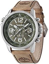 para Hombre Timberland a Campton Reloj Infantil de Cuarzo con Esfera  cronográfica y Correa de Piel 90774a1a8be1