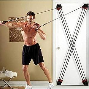 WEI Zugseile Allround-X-Abzieher Multifunktionale Fitness-Widerstandsseile Trainingsgurte Ziehen,Bild,Einheitsgröße
