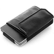JAIMIE JACOBS Minimalist Wallet Nano Boy Pocket Mini Geldbörse aus Textil mit Zugband schmaler Kartenhalter für Herren und Damen