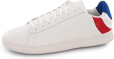 le coq Sportif Break Cocarde Optical White/Tricolore, Sneaker Unisex-Adulto, EU