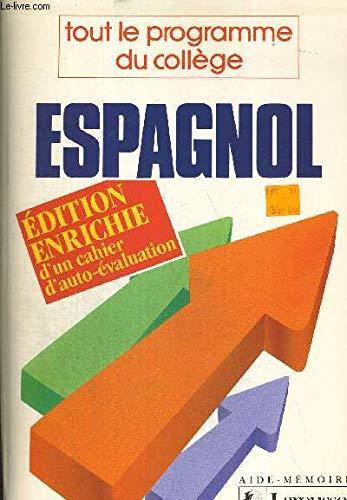 Espagnol/tout le programme du college